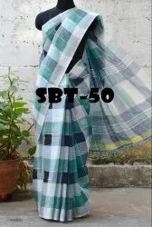 SBT Present Checks Printed Saree