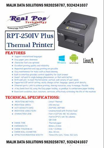 Thermal Printer Font