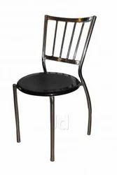 黑色不锈钢咖啡椅