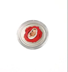 New Born Baby Gift Set Color Silver Coin 10 gm