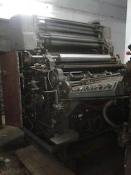 Manual Single Color Offset Printing Machine Single Colour ( Kamori), for Bill Printer