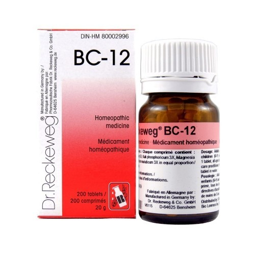 Bc 12 Homeopathic Drop