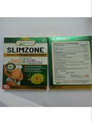 Slimzone Tab - Garcinia Combogia   Purple Tea Extract Pyridoxine & Leucine (Weight Loss Formula)