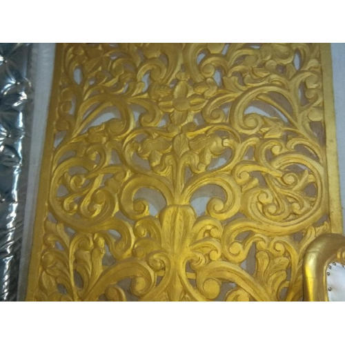 Golden Decorative Wooden Carving