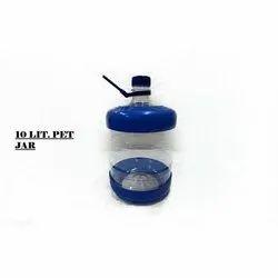 Round 10 L PET Mineral Water Jar