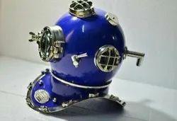 Solid Brass Diving Divers Helmet U.S Navy Mark V 8 Inch Maritime Home Decor