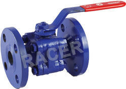 Flanged End Mild Steel Ball Valve