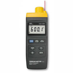 High Temp IR Thermometer, Wide Range
