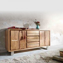 Brown Magana - Sideboard - Live Edge