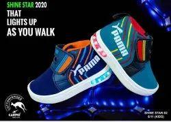 Party Wear Velcro Kids Designer Shoes