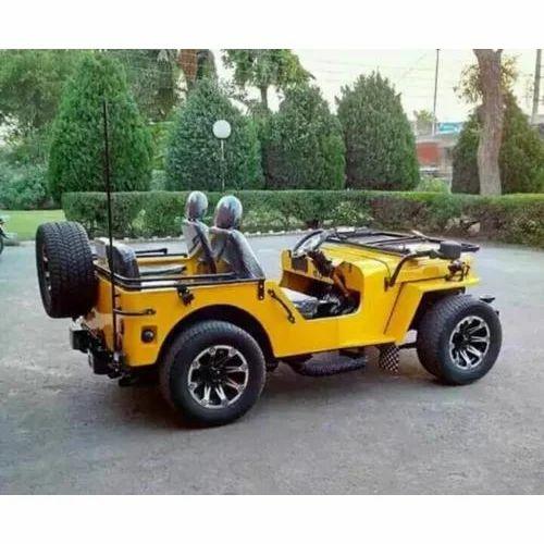 Mahindra Open Modified Jeep