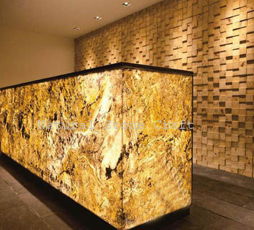 Translucent Stone Veneer Size 2 X4 Rs 75 Square Feet