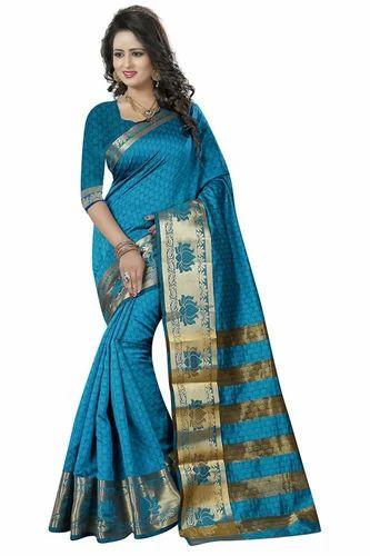 303e60fb70 Printed Wedding Wear Mastani Latest Cotton Silk Saree For Women, Rs ...