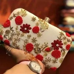 Red Wedding Casual Clutch