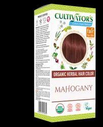 Organic Herbal Hair Color - Mahogany