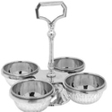 2,3 and 4 Compartments Pickle Stand