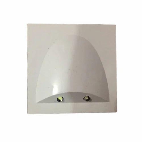 Cool White Indicator Light