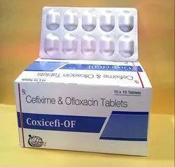 Cefixine Ofloxacin Tab
