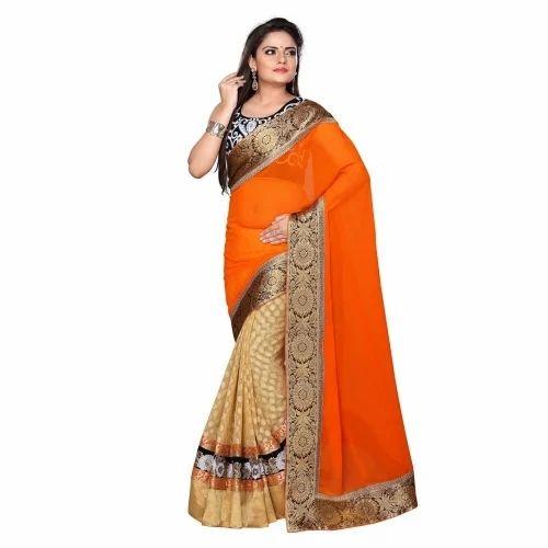 12d04976e10564 Silk Border Designed Banarsi Sarees