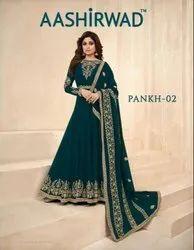 Indo Western Catalog Shades Aashirwad Gown Pankh Vol 2