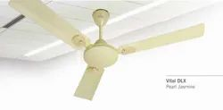 Polycab Electricity Vital DLX Pearl Jasmine Ceiling Fan, 400 Rpm, Sweep Size: 1200 Mm