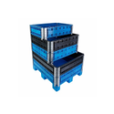 Plastic Pallet Collars With Lid