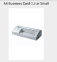 A4 Business Card Cutter