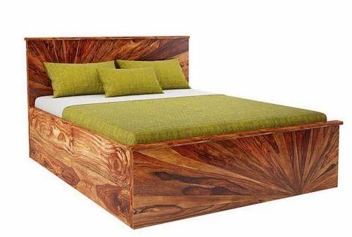Sunrise Queen Wooden Double Bed