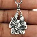 Captivating 925 Sterling Silver Ganesha Pendant