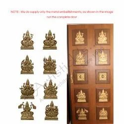 Standard Brass Pooja Door for Home