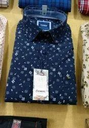 Mens Flower Printed Shirt
