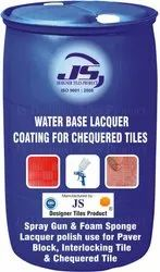 Chequered Tile Water Base Lacquer Coating