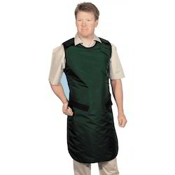 Cotton Round Green Medical Aprons, for Hospital, Size: Medium