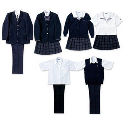 Boys And Girls Cotton School Uniform