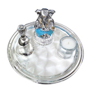 Silver Plated Imported/ Branded Puja Thali