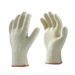 Cotton Knitted Seamless Hand Gloves / Poly Cotton Knitted Seamless