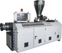 Conical Twin Screw Extruder for PVC Compounding Plant
