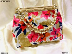 Stylish Floral Print Hand Bag