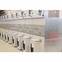Mild Steel Three Phase Electric Control Panel