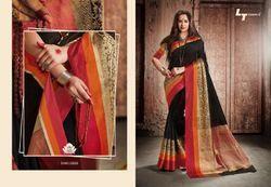 Cotton Silk Zari Work Handloom Saree, Length: 6.3 m