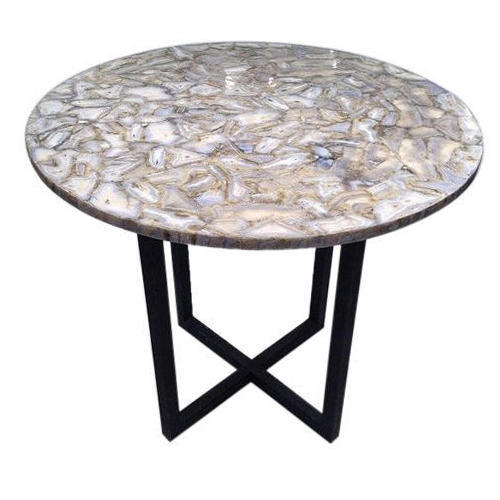 Beautiful Agate Stone Table Top