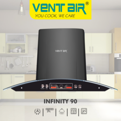 INFINITY 90 Ventair Kitchen Chimney