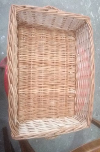 Brown Cane Fruit Basket, Size: 13*9 Inch From Bottom