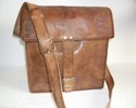 Vintage Leather Satchel Bag