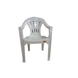 Marble White Premium Plastic Chair