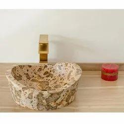 Capstona Daystar Marble  Wash Basin