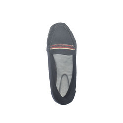 Synthetic Suede Ladies Casual Shoes, Size: 36-40