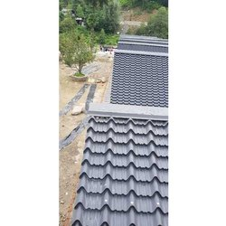 Grey Tile Roofing Sheet