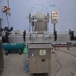 Automatic Hair Oil Bottle filling machine