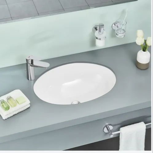 Ceramic Wall Mounted Grohe Undercounter Wash Basin, for Home,Hotel, Rs 5000 \/pc ID: 21143689930